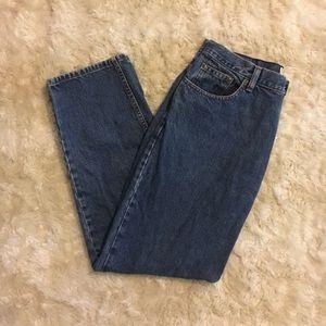 VTG Dark Wash Mom Jeans
